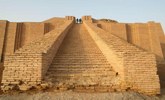 Как выглядела Вавилонская башня и первая пирамида возрастом 5000 лет. Самые старые здания в истории