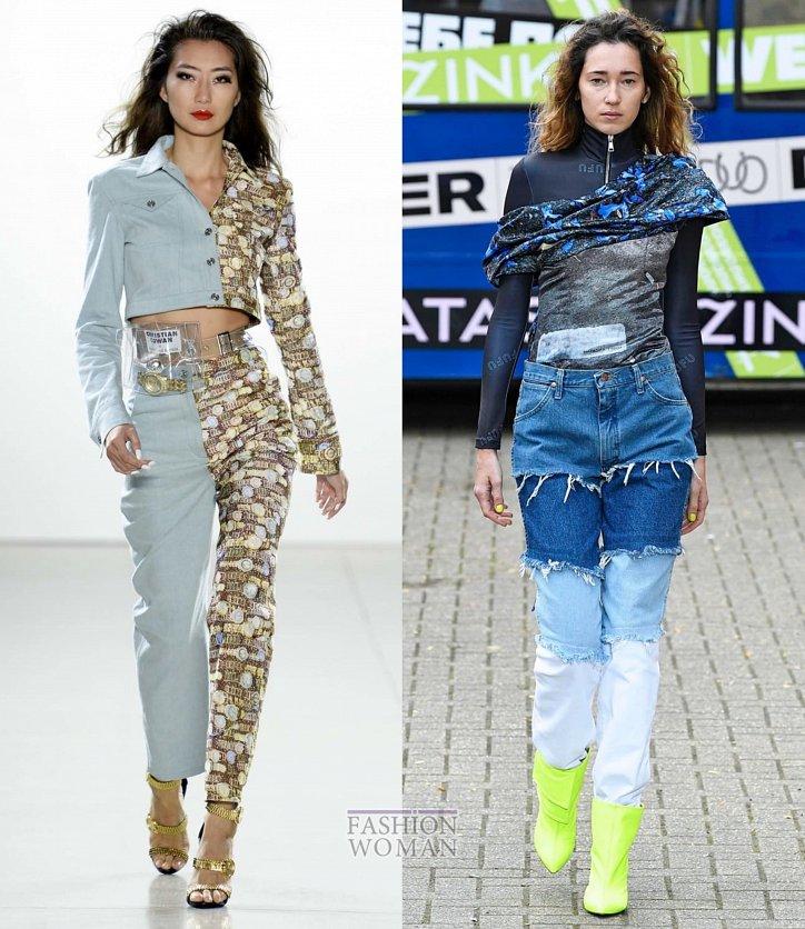 Модные джинсы весна-лето 2019 фото №18
