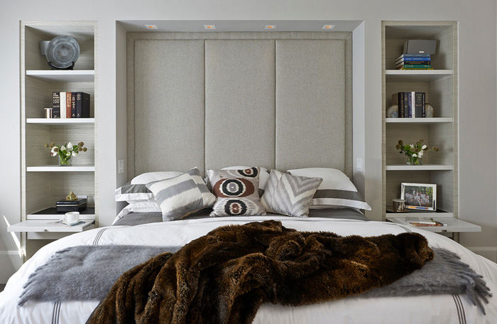 11 маленьких хитростей, которые помогут сэкономить место в спальне