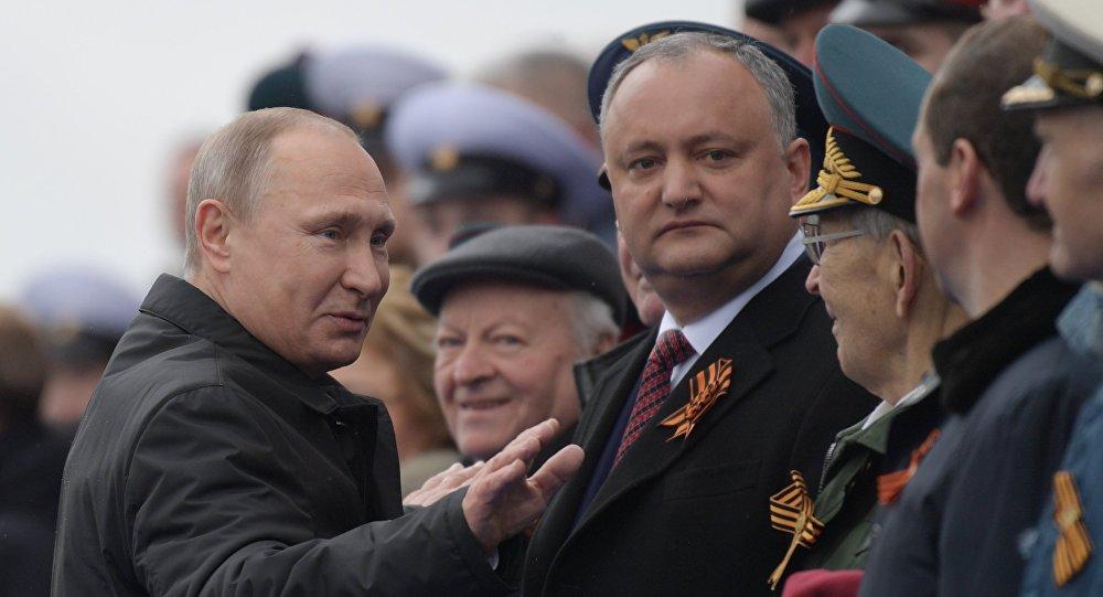 Игорь Додон: Молдавия выбирает Россию