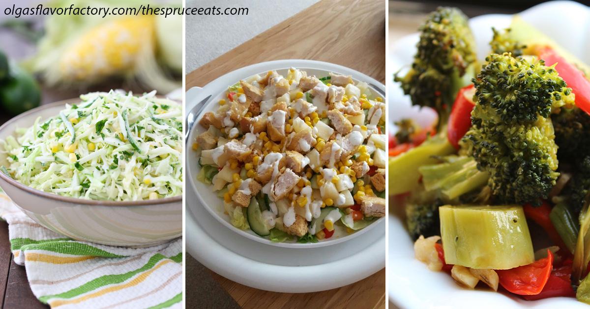 3 салата, которые можно есть даже перед сном: в них почти нет калорий кулинария,рецепты,салаты,худеем