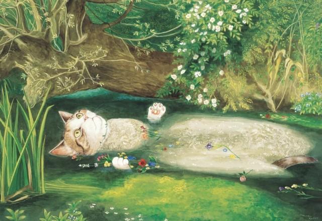 Котики и классическая живопись