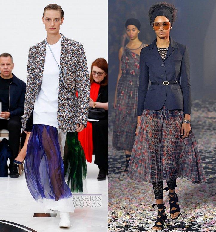 Модные юбки весна-лето 2019 фото №10