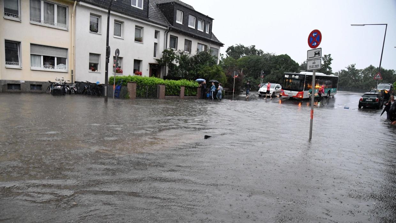 Германию накроет наводнение исторического масштаба Происшествия