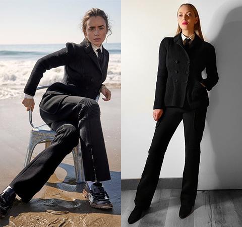 Модная битва: Лили Коллинз против Аманды Сейфрид Битва платьев