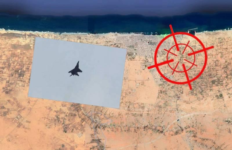 Опубликованные фото МиГ-29 в небе Ливии вызывают подозрение