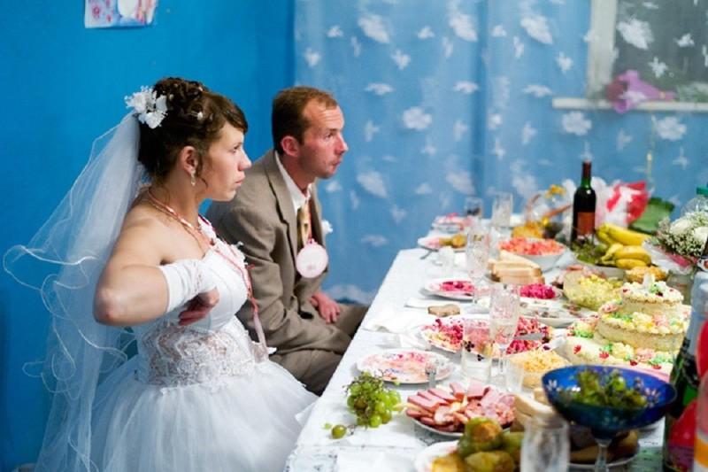 сельские свадьбы фото прикольные борода