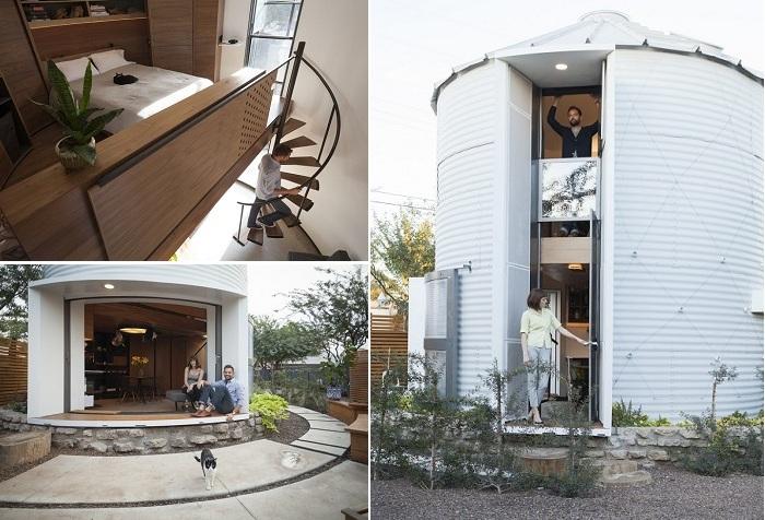 Жить без острых углов: компактный домик-цилиндр площадью всего 31 кв. метр