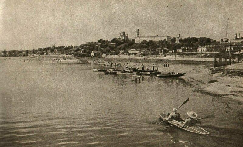 Владимир СССР, пляж, ретроспектива