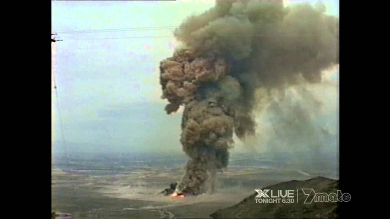 Уникальные кадры взрыва химического завода