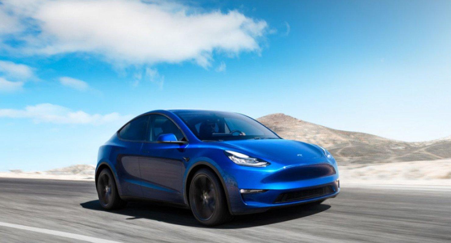 В Китае стартовал прием предварительных заказов на самую доступную версию Tesla Model Y Автомобили
