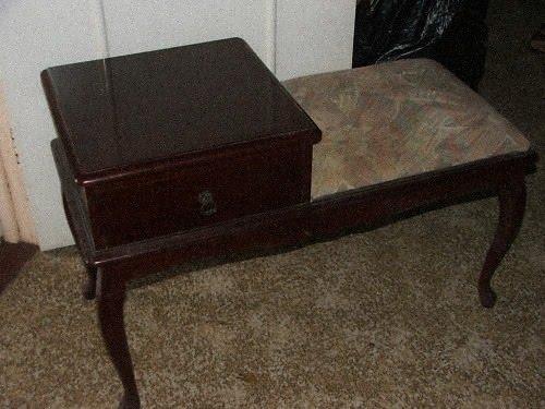 Супер идея переделки телефонного столика