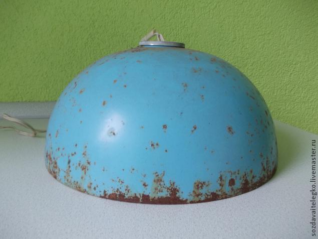 Светильник для кухни. Техника... своеобразная.