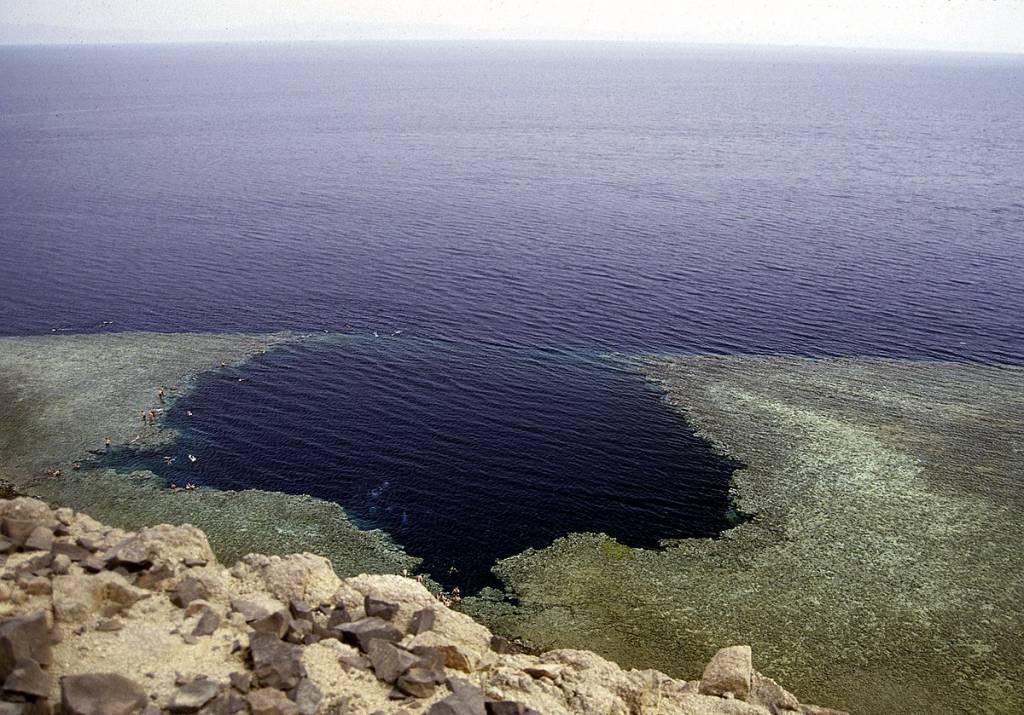 Голубая дыра. Египет
