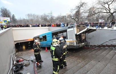 Опознаны все погибшие в ДТП с автобусом в Москве