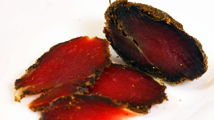Рецепт Вяленого мяса на Новы…
