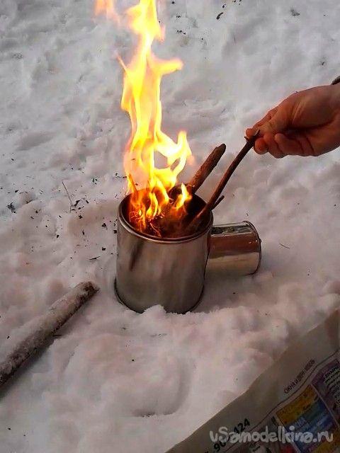 Походная мини-печь