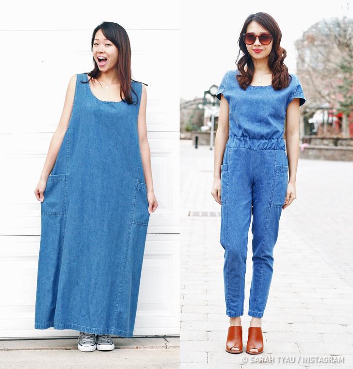 Дизайнер-любитель превращает старую одежду в стильные наряды для себя и дочерей