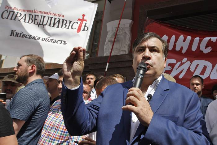 Саакашвили намеревается поме…