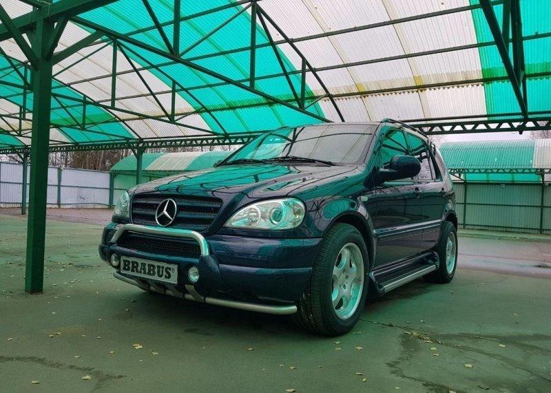 Феномен из 90-х: Mercedes-Benz ML Brabus 7.3S