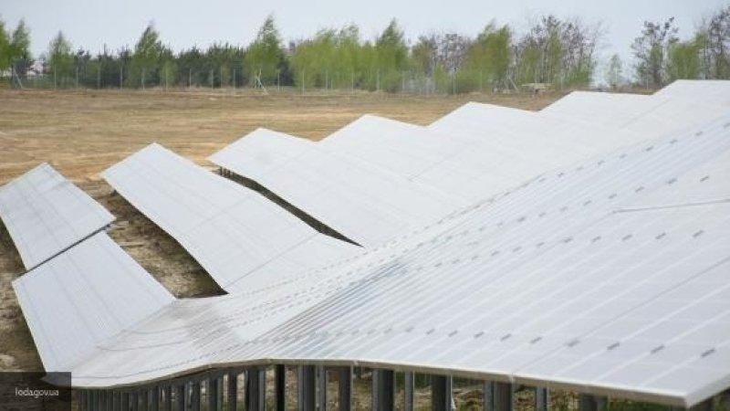 Новая солнечная электростанция построена в Бурятии