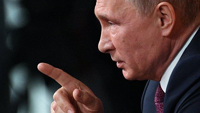 """""""Те, кто капают куда-то яд, сами его и проглотят"""", — Путин вынес США предупреждение ввиду событий на Украине"""