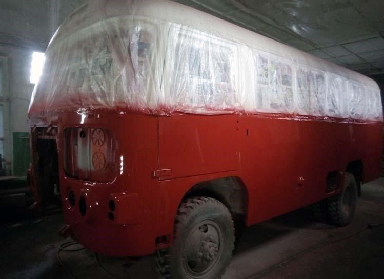 Дальше — грунтовка и покраска. авто, автобус, восстановление, олдтаймер, паз, реставрация, ретро авто