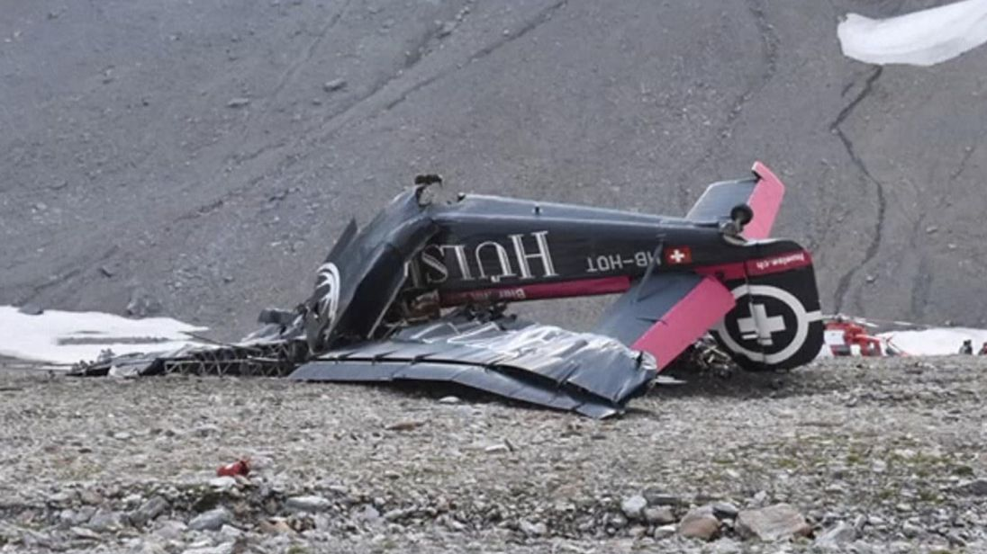 В Швейцарии разбилась «Тётушка Ю»