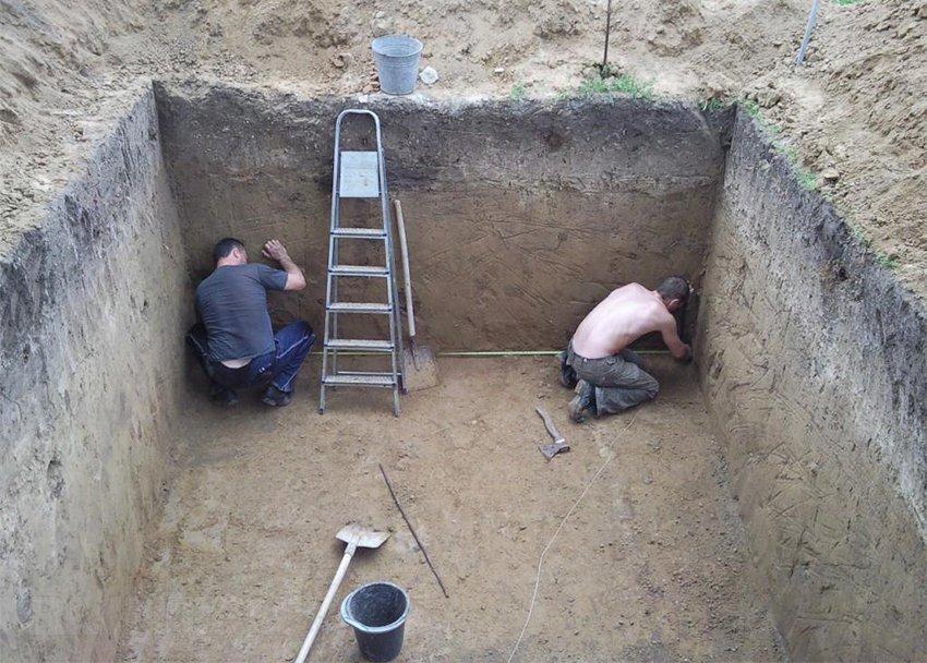 Перекрытия погреба в гараже своими руками фото 605