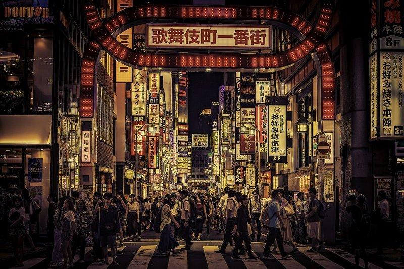 Фотограф осуществил мечту детства, побывав в Японии