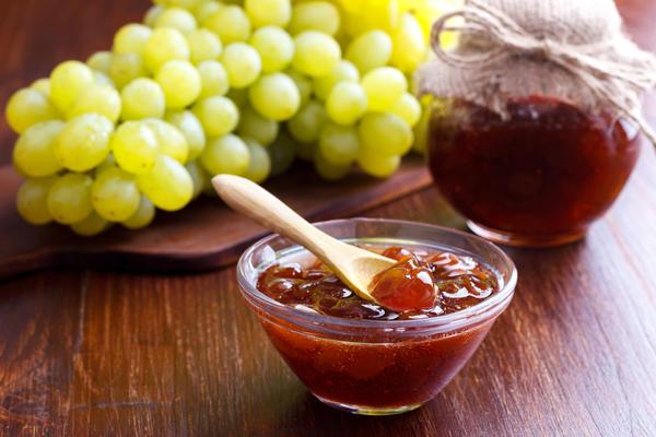 Виноградное варенье с лимоном