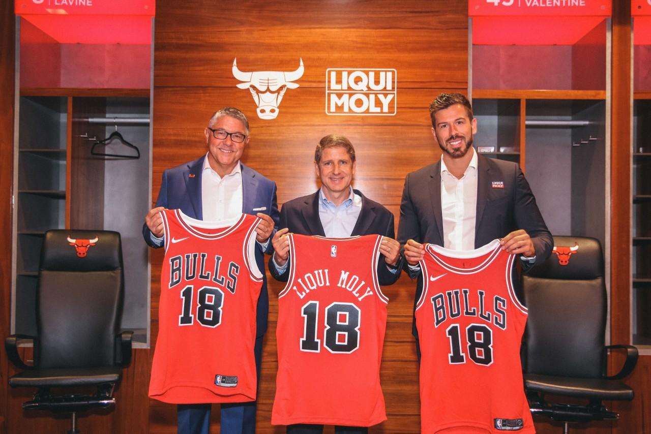 Liqui Moly стал спонсором «быков»!
