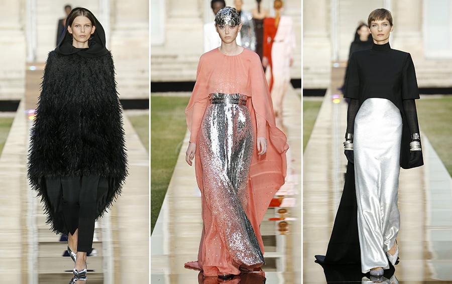 парижская неделя моды показ дживанши