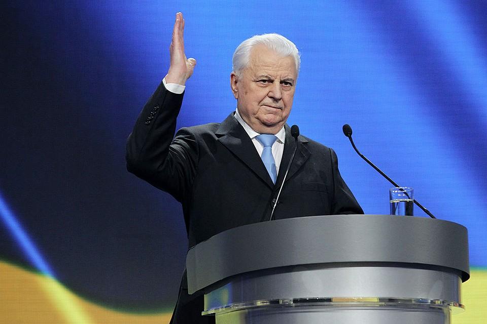 Кравчук обратился к России с просьбой не принуждать Украину к миру