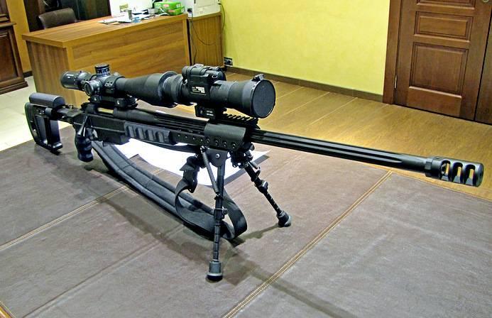 Снайперская винтовка Драгунова под патрон .300 Win Mag