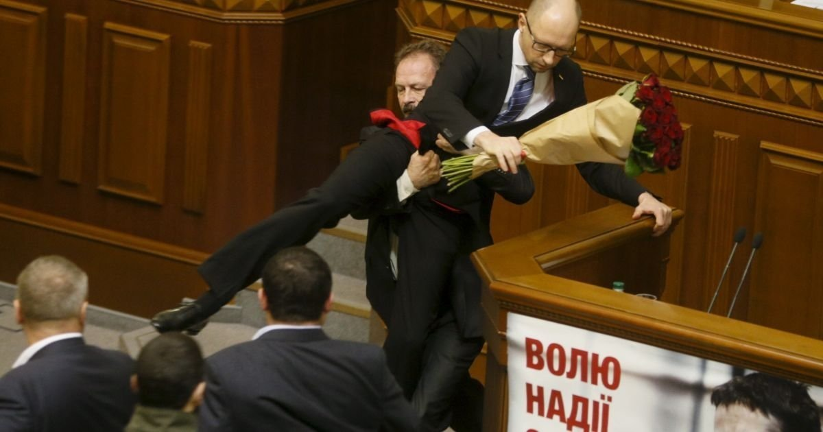 Новым президентом Украины будет гомофоб