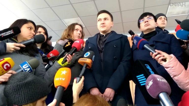 Савченко: Порошенко для удержания власти пошел на массовые убийства на Донбассе