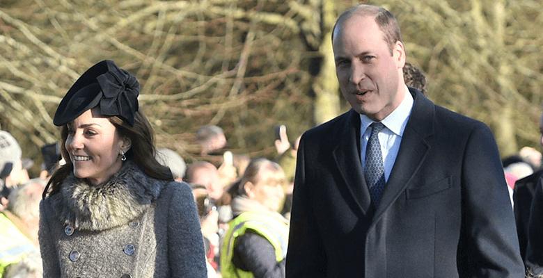 Герцоги Кембриджские с детьм…