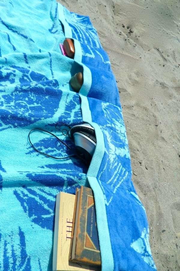 18 простых способов сделать ваш пляжный отдых удобнее и проще (18 фото)