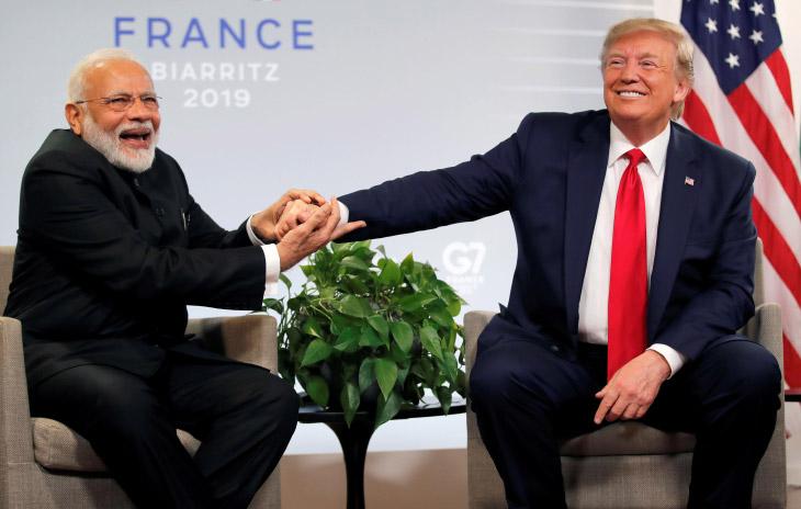 Забавные кадры саммита G7 2019