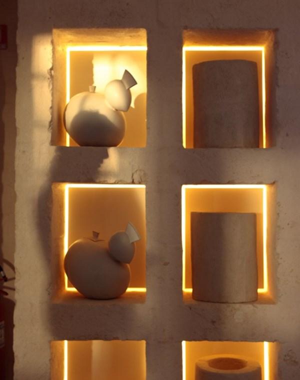 Светодиодная подсветка встроенных полок