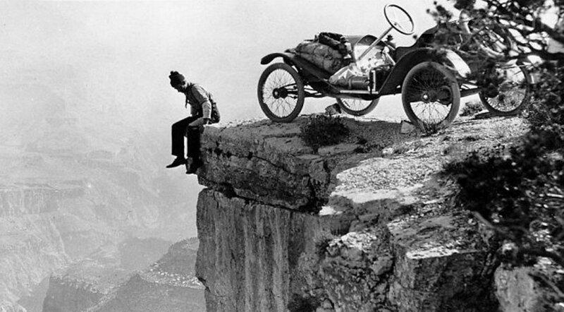 Парковка у Гранд-Каньона 1914 г.