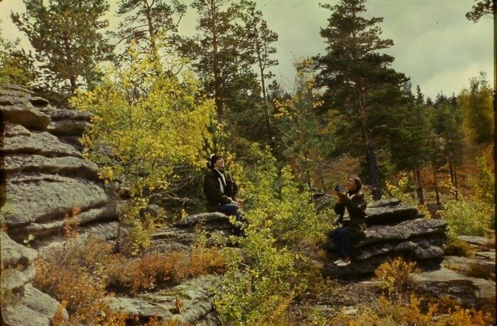 Известно только, что он — советский геолог барахолка, в мире, геолог, клад, люди, ностальгия, фото, чемодан