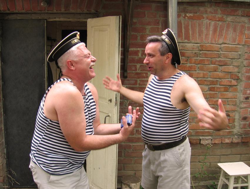 Фотожабы на моряков особенность