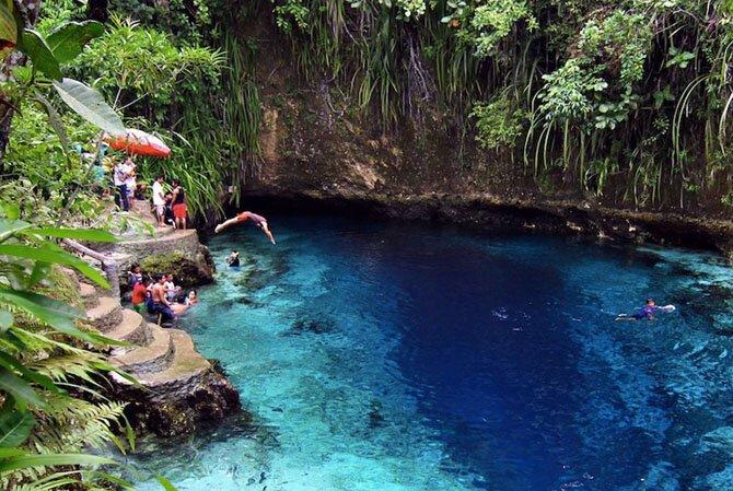 Зачарованная Река, Филиппины путешествия, факты, фото