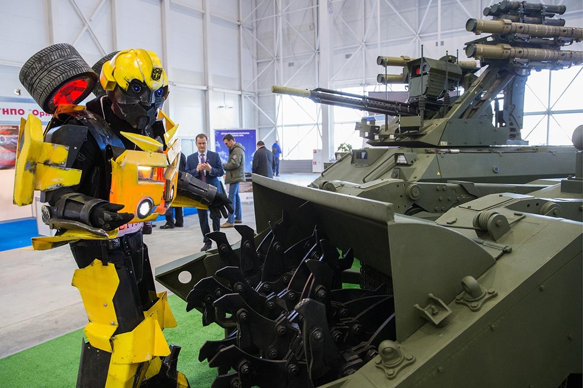 роботы российской разработки всегда делал свою