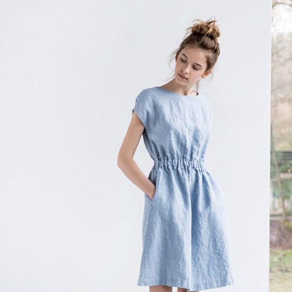 одежда из льна, одежда для женщин
