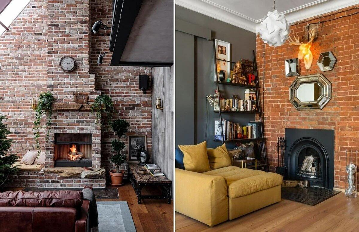 Камин в интерьере: варианты оформления камина и его имитации дизайн,идеи для дома,интерьер,камин