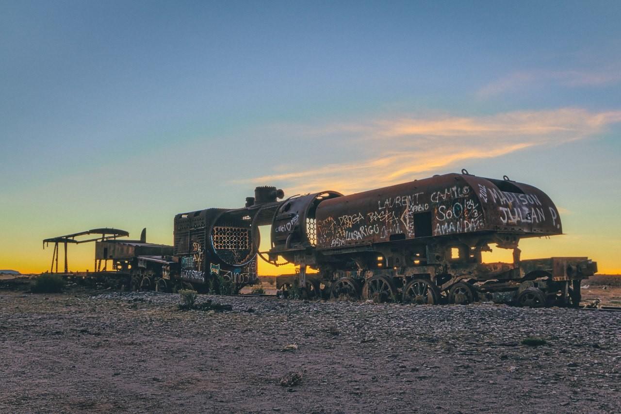 Брошенные поезда