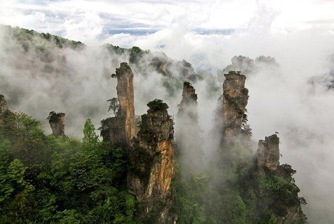 Улинъюань, Китай путешествия, факты, фото